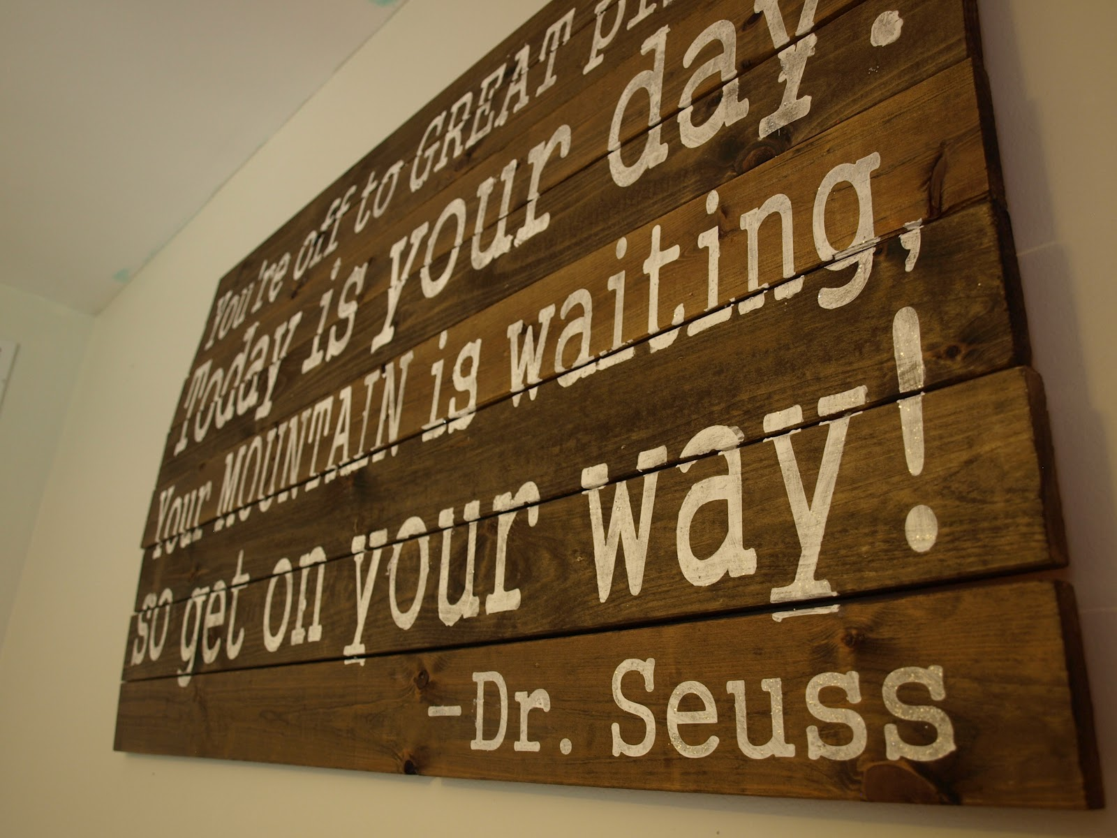 New Home Quotes Oh Susannah® Drseuss Quote On Wooden Wall Hanging