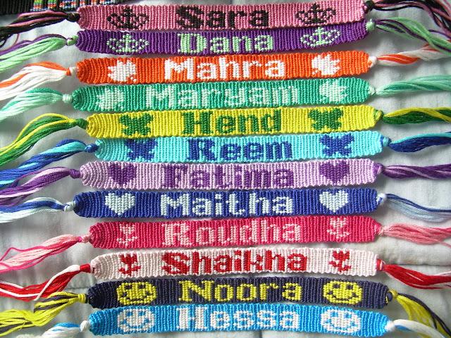 Friendship Bracelet Name Patterns8