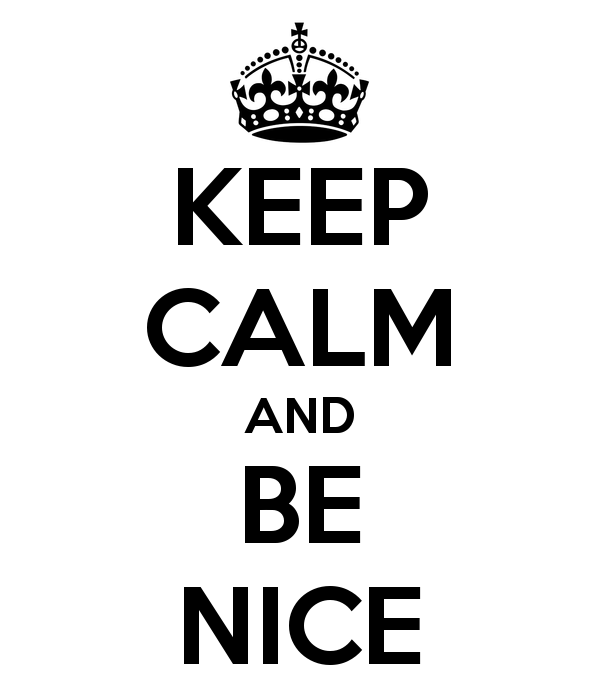 B For Be Nice