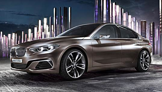 2016 BMW Concept Compact Sedan