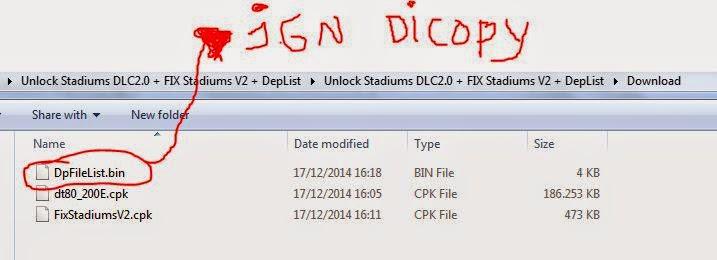 Cara Pasang Stadium Estarlen Silva V2 ke PTE Patch 3.0