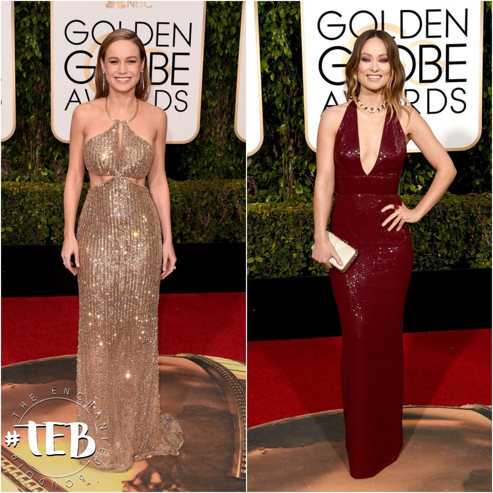 Brie Larson golden globes