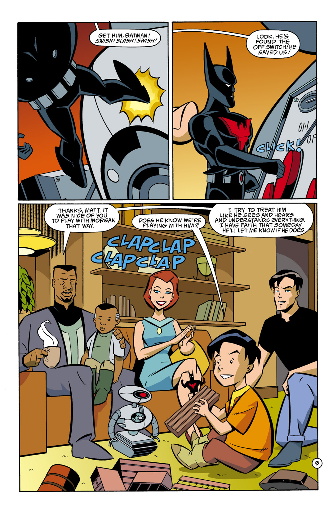 Batman Beyond [II] Issue #10 #10 - English 4