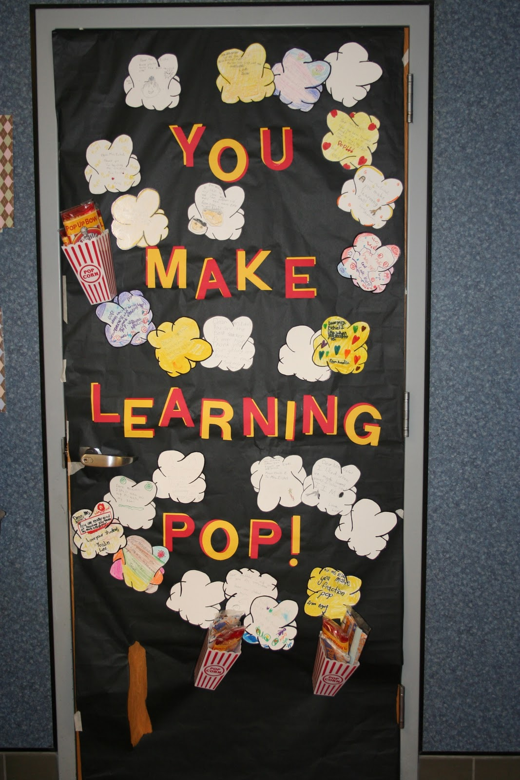 Be different act normal teacher appreciation week door for Door design accessories
