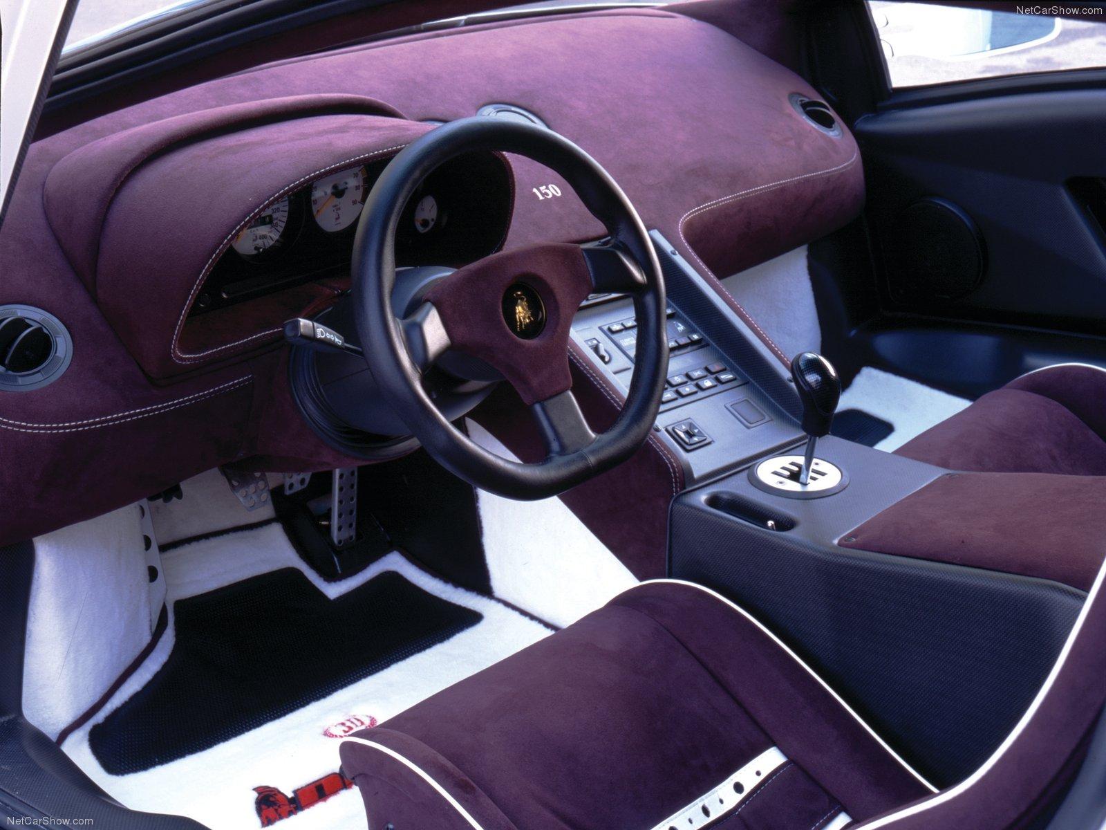 Hình ảnh siêu xe Lamborghini Diablo SE 1994 & nội ngoại thất