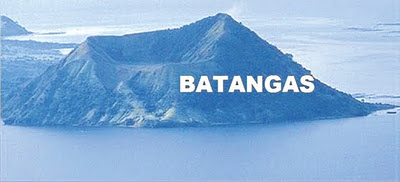 BATANGAS Sign on Taal Volcano | Ale eh, Hallywood?