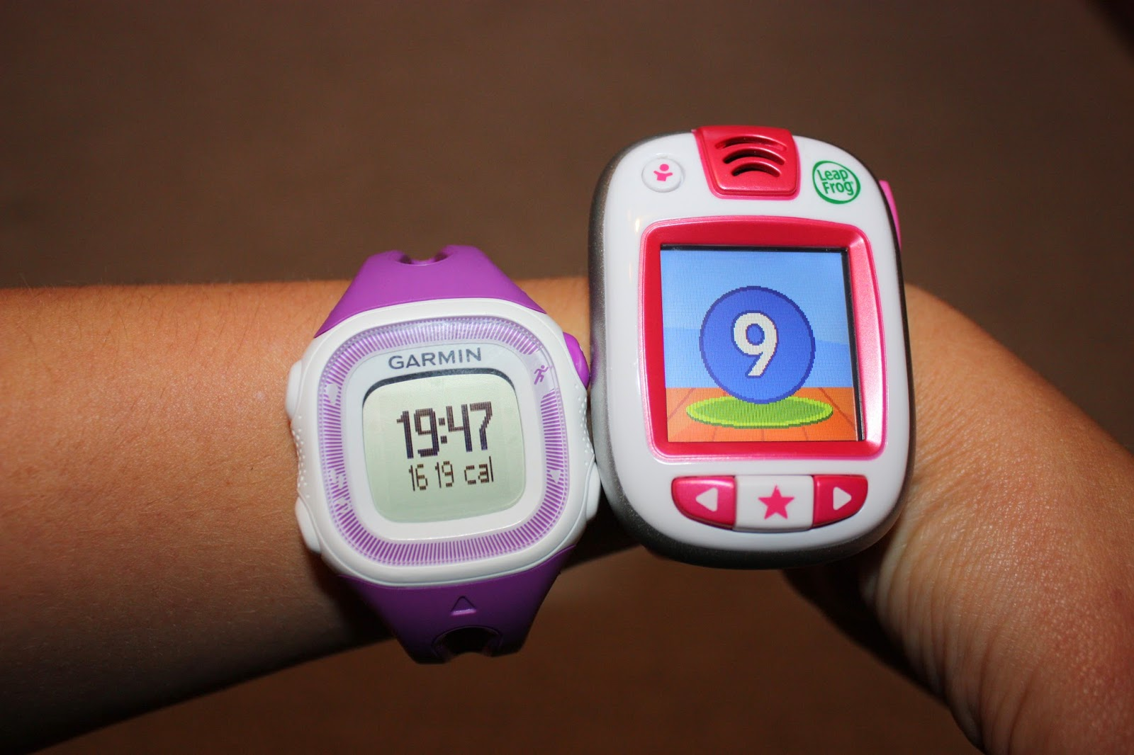 Mummy and Kids LeapBand fitness watches
