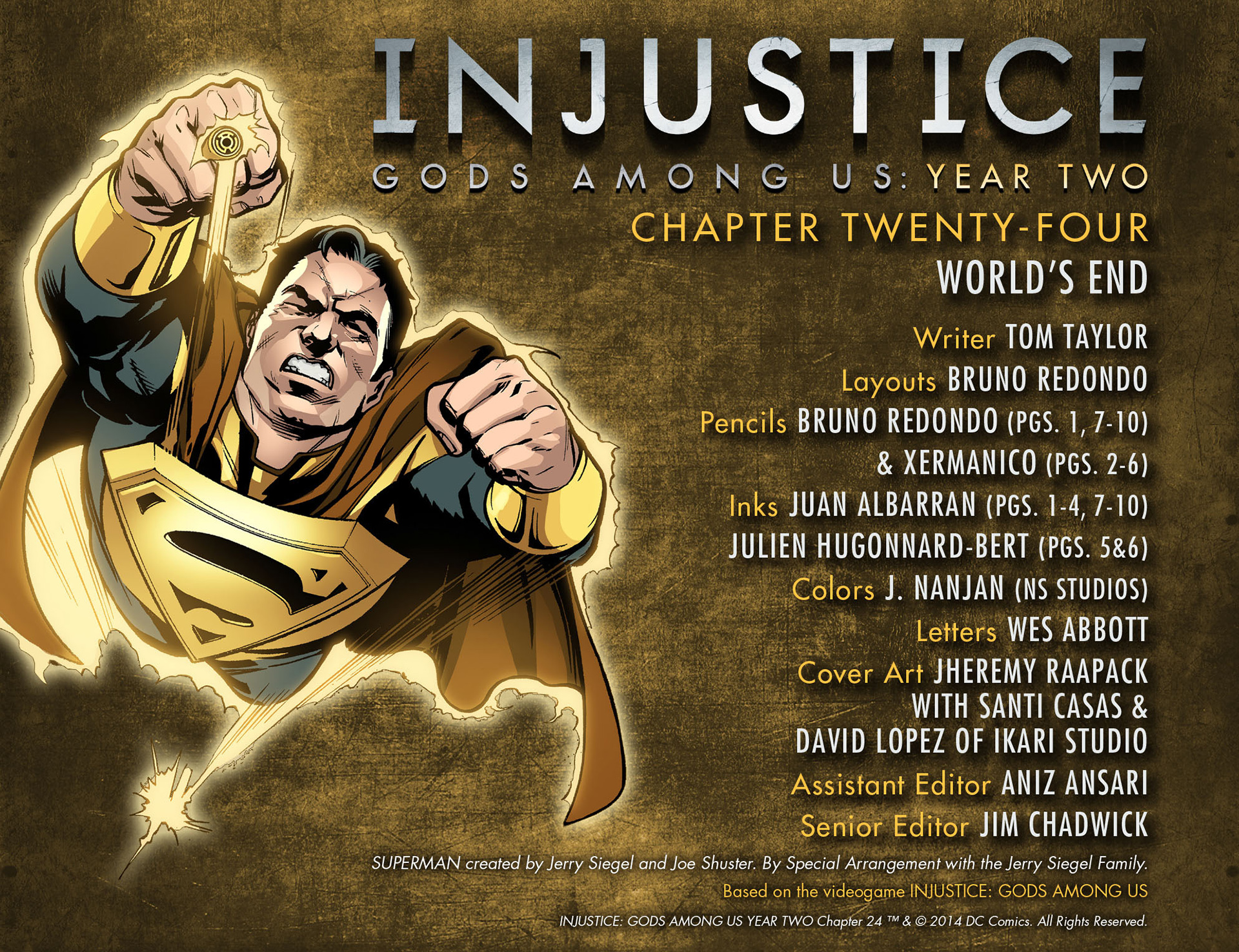 Injustice: Gods Among Us: Year Two Issue #24 #25 - English 2