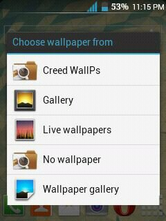 CM10,S3 & Jelly Bean Wallpaper Chooser for Galaxy Y