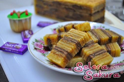 Kek Lapis Cadbury...Kek Lapis India
