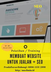 Pelatihan Bisnis Online Januari 2018