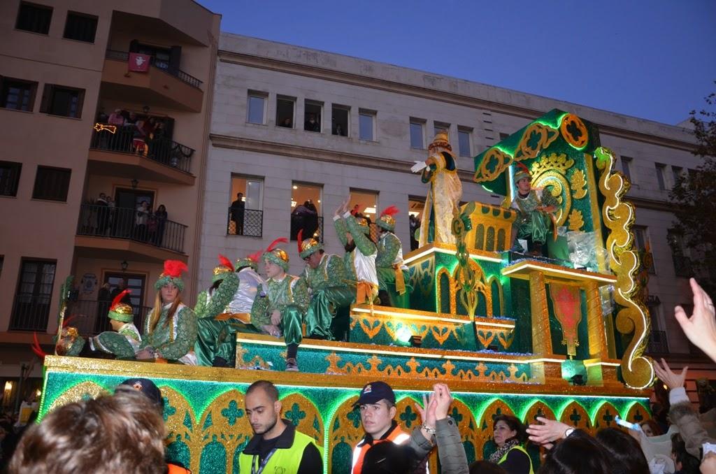 Cabalgata de Reyes Magos Sevilla 2015