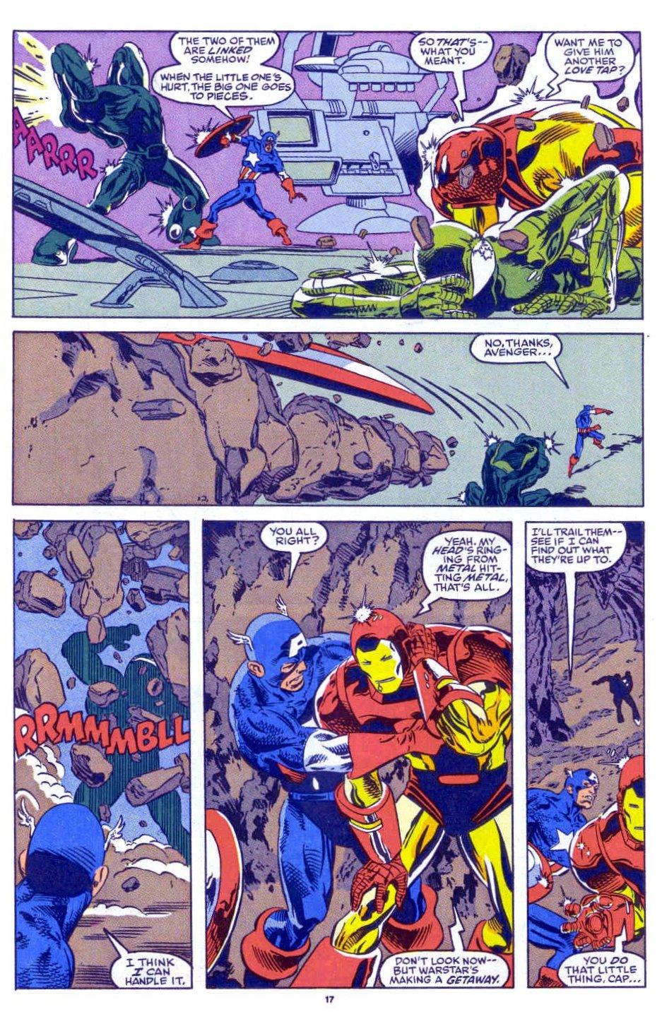 Captain America (1968) Issue #398b #332 - English 14