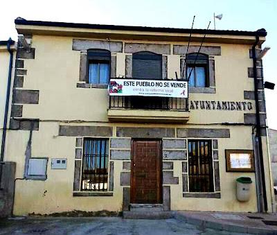 Peromingo, este pueblo no se vende, contra la reforma local