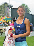 Up a set but down 15 in the second set, Camila Giorgi decided to just get .