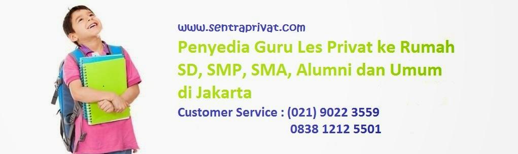 Les Privat di Jakarta I Guru ke Rumah Jakarta I 0838.1212.5501