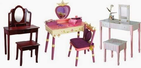 Children's Vanity Tables