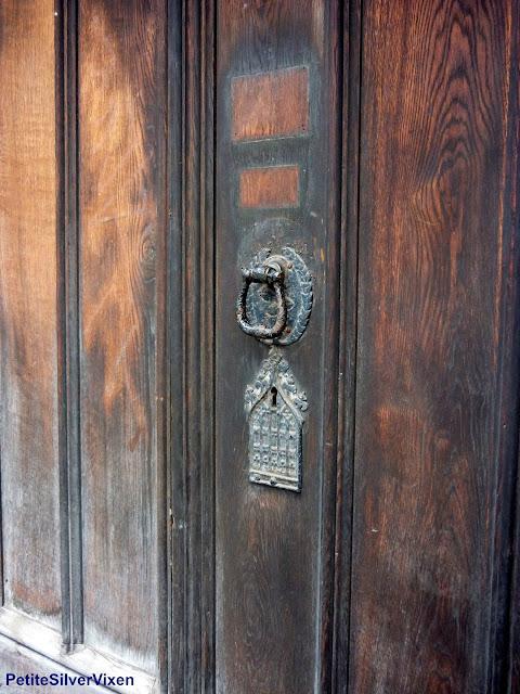 Old Door Knocker | PetiteSilverVixen