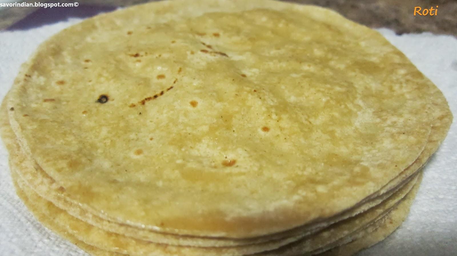 Squishy Recipe : Phulka /Soft Roti/Chapati/Indian Bread Recipe - Indian fare and more...