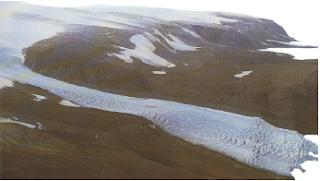 Contoh hasil erosi gletser. (Sumber : Jendela Iptek)