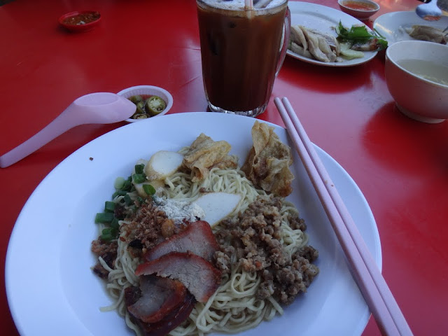 Sarawak handmade noodle is also another Malaysia popular dishes