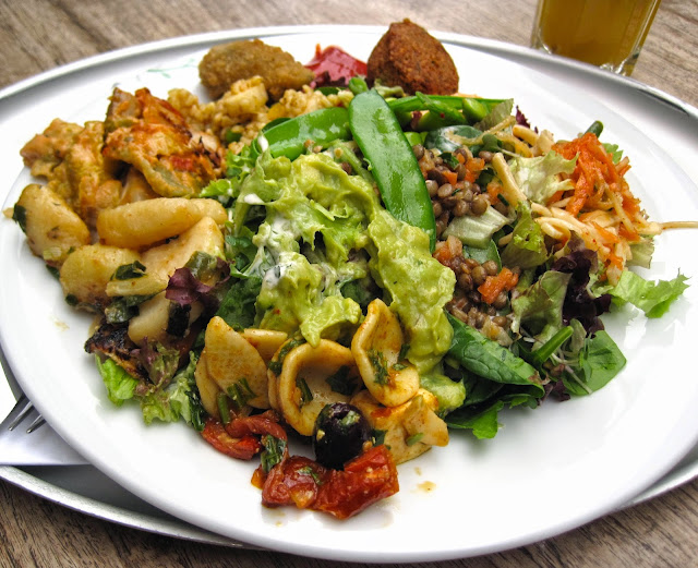 A Mix of Delicious Vegan Dishes - Tibits London Buffet