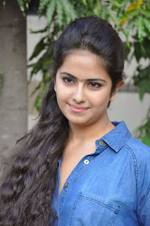 Acress Avika Gor Pictures in Pink Tight Jeans at Uyyala Jampala Movie Press Meet 0005.jpg