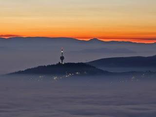 'Tapete' de poluição cobre capital da Bósnia