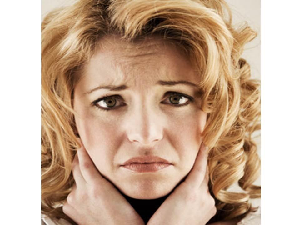 facial expression sadness