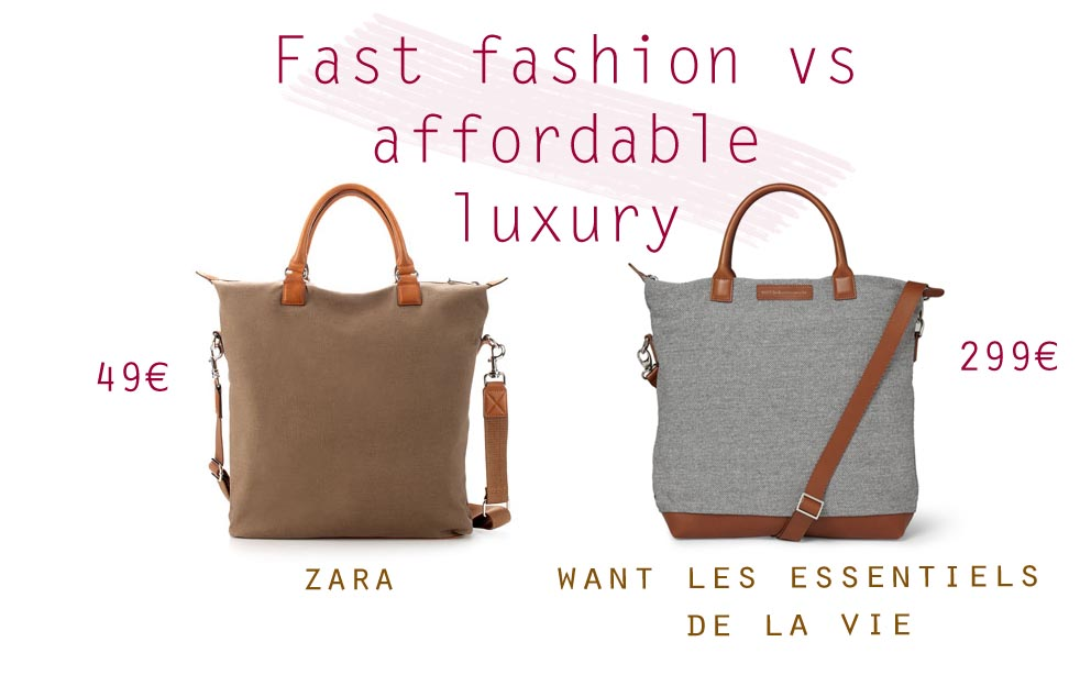 fast fashion versus luxury fashion Learn how fashion and luxury companies work and understand their brands, products, retail, and communication strategies travel through business models, international development, and product categories with industry influent experts adopting a case-study approach, the course presents strategic.