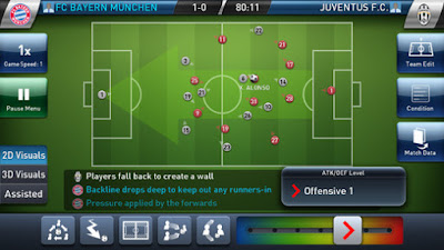 PES Club Manager 1.1.0 APK-screenshot