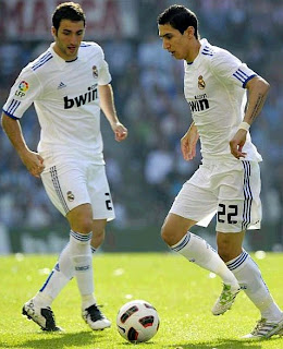 Higuain and Di Maria will play for Real Madrid in China