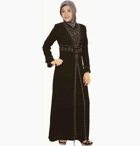 Gambar Model Baju Gamis Modern 2015