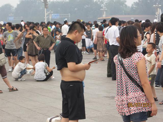 Modo típico chino de contrarrestar el calor.