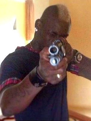 Mario Balotelli Posts Gun Message to 'Haters'
