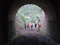 Sortint del túnel del Carrilet