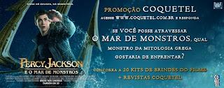 """Concurso Cultural """"Percy Jackson E O Mar De Monstros"""""""