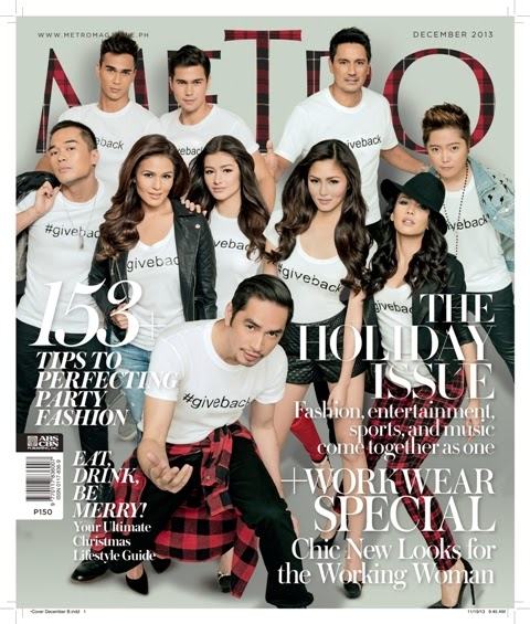 Metro Magazine All-Star Cover for December 2013