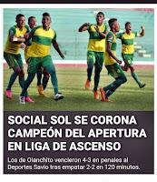 Social Sol,Olanchito,futbol Honduras,