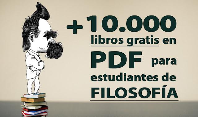 +10,000 Libros de filosofía gratuitos.