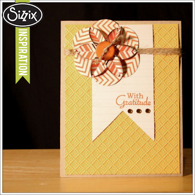CAS card by Tami Mayberry using Sizzix and Gina K Designs All Occasion Tags 2 stamp set