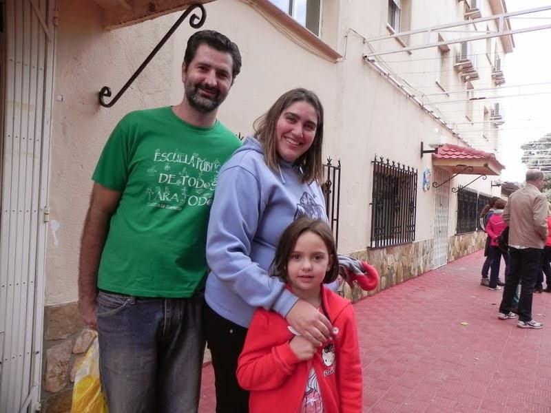 Luis, Paula e Irene
