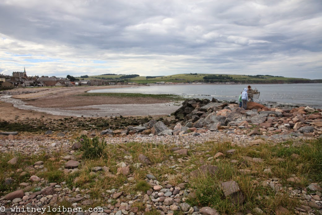 Stonehaven, Scotland, beach