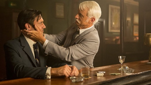 Jon Hamm y John Slattery en Mad Men (AMC).