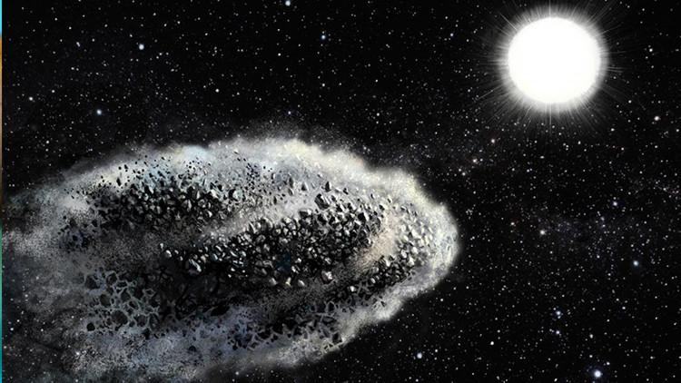 El sol destruye el 90% de los asteroides.