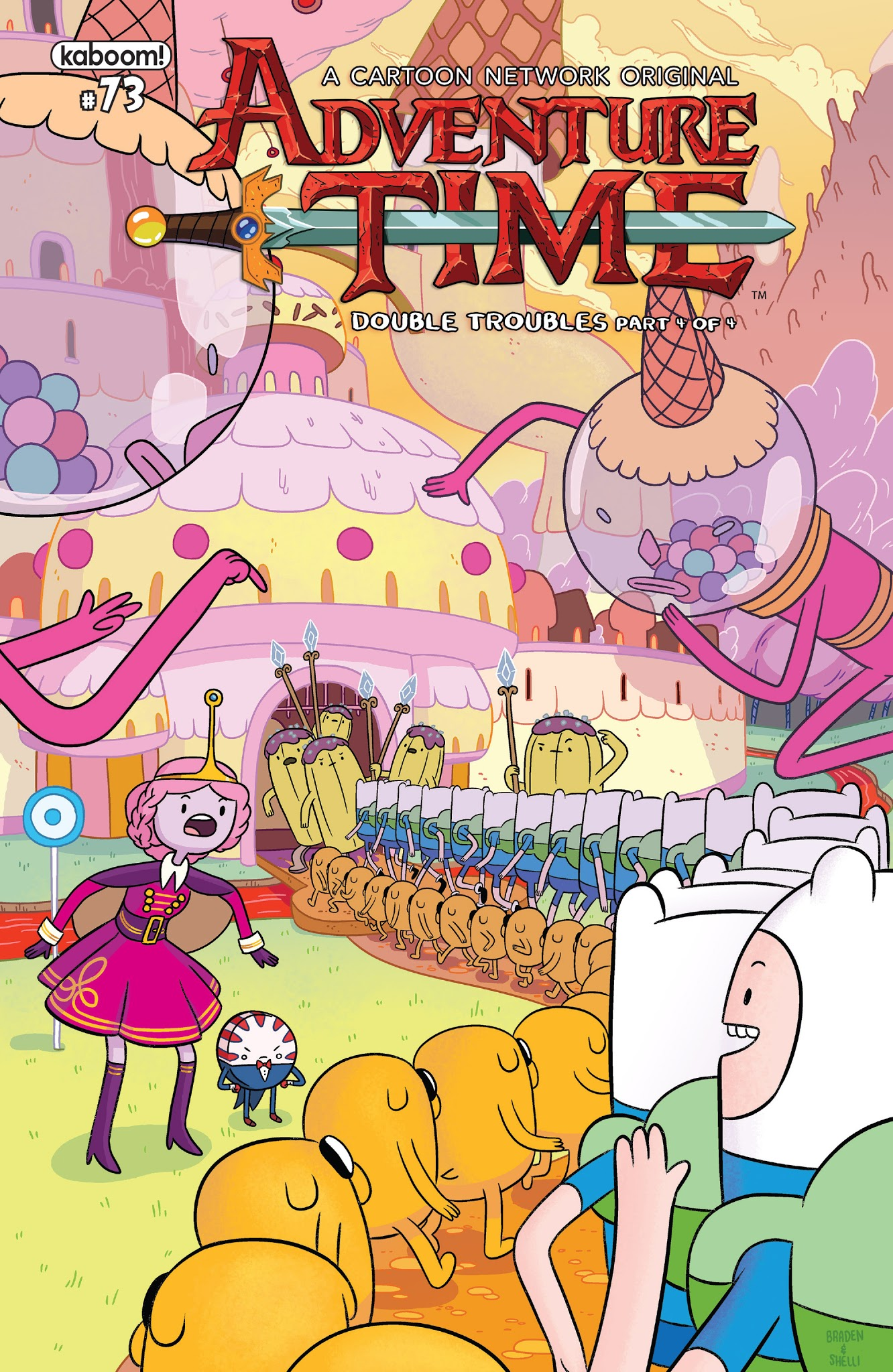 Adventure Time 73 Page 1