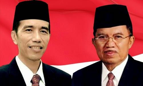 Inilah Daftar 34 Nama Menteri Susunan Kabinet Jokowi JK
