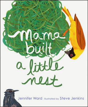 Get ready for spring with MAMA BUILT A LITTLE NEST new from Jennifer Ward in March!