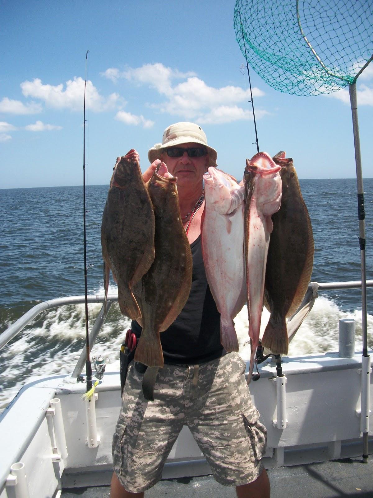 Belmar nj fishing reports captain cal ii 75 39 belmar for Belmar fishing charters