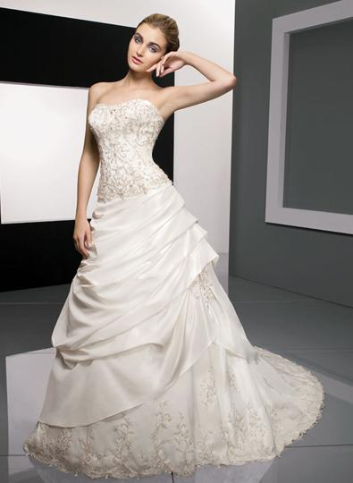 Fashion apparel 2012 find the best and affordable wedding for Affordable wedding dress designers
